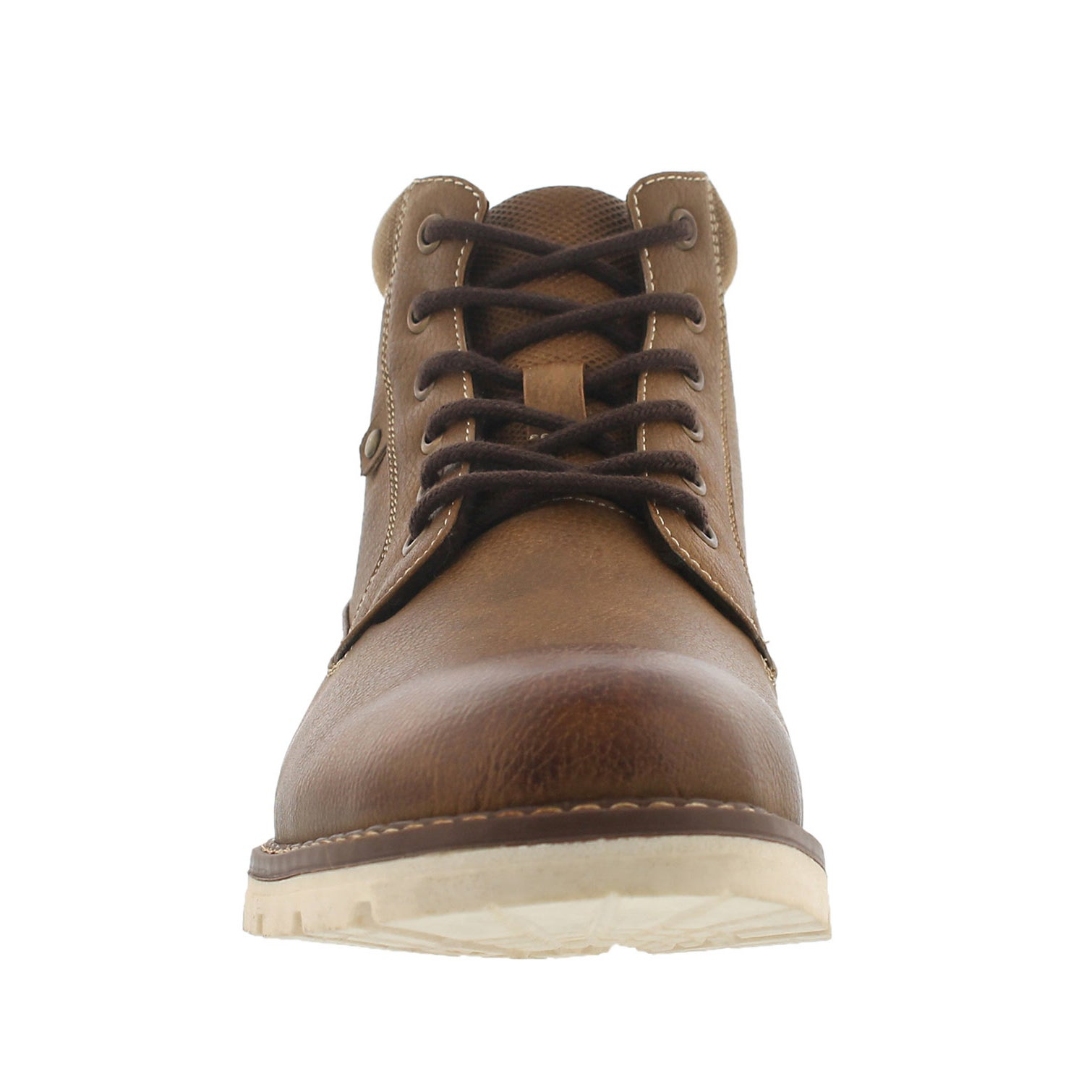 Mns Hallway cognac lace up ankle boot