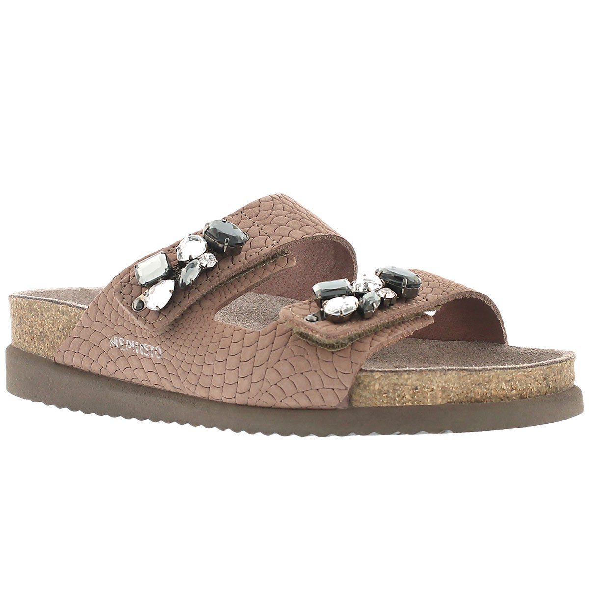 Women's HANA pink rio cork footbed sandals