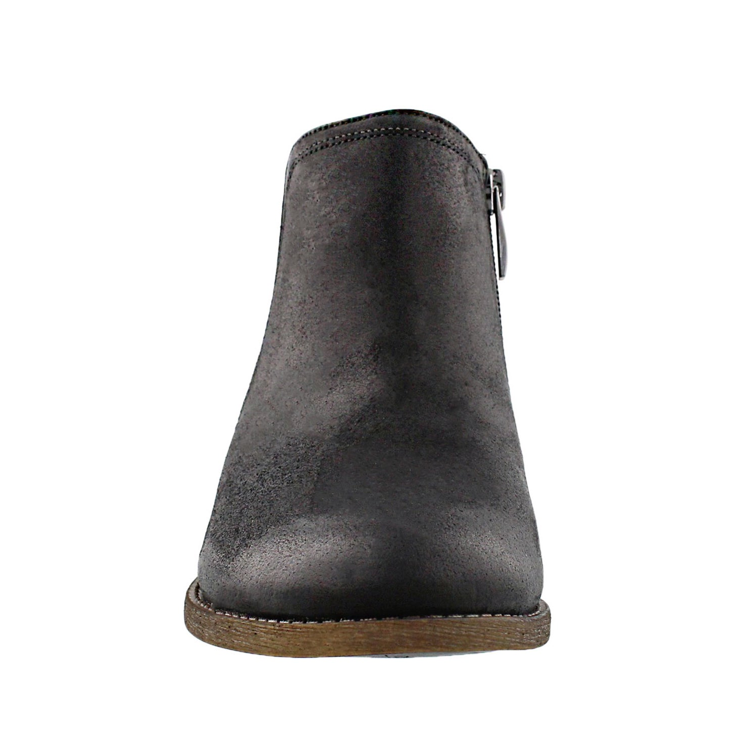 Lds Hancock black slip on ankle boot