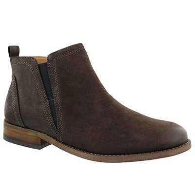 Franco Sarto Women's HANCOCK brown slip on ankle boots