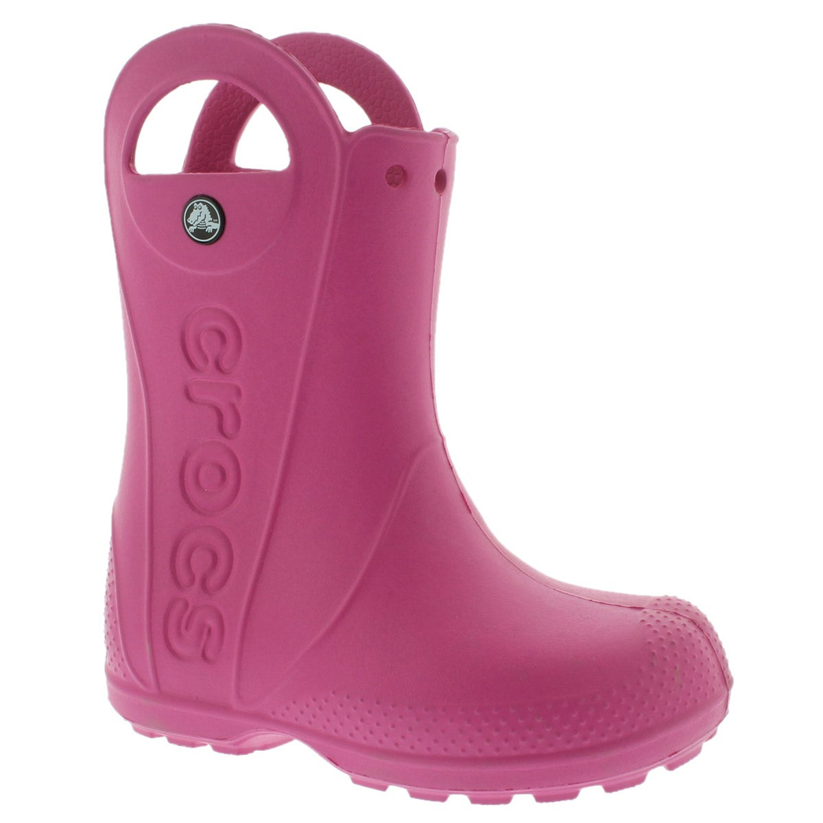 Grls Handle it fuchsia wtprf rain boot
