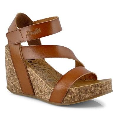 Lds Hapuku scotch casual wedge sandal