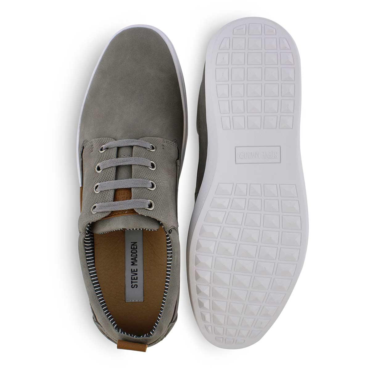 0707711732c Men's HARDAWAY grey lace up casual sneakers
