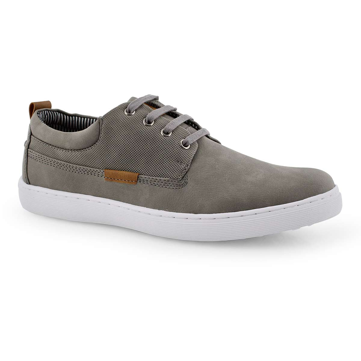 Mns Hardaway grey lace up casual sneaker