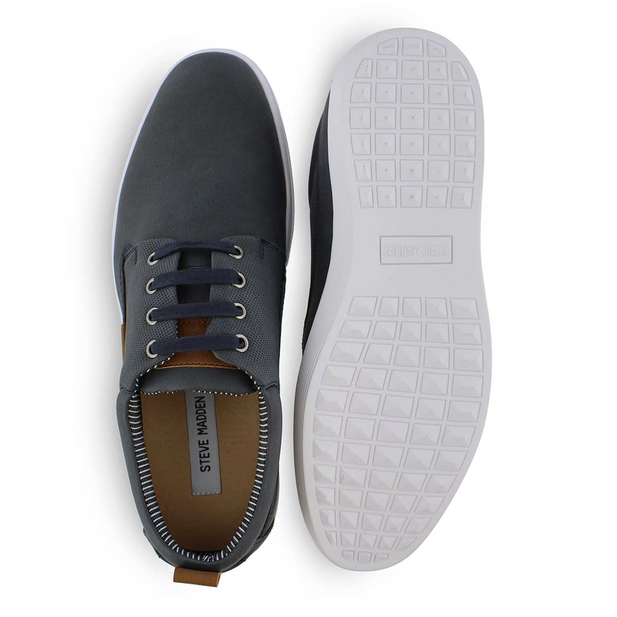 Mns Hardaway navy lace up casual sneaker