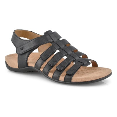 Lds Harissa black casual sandals