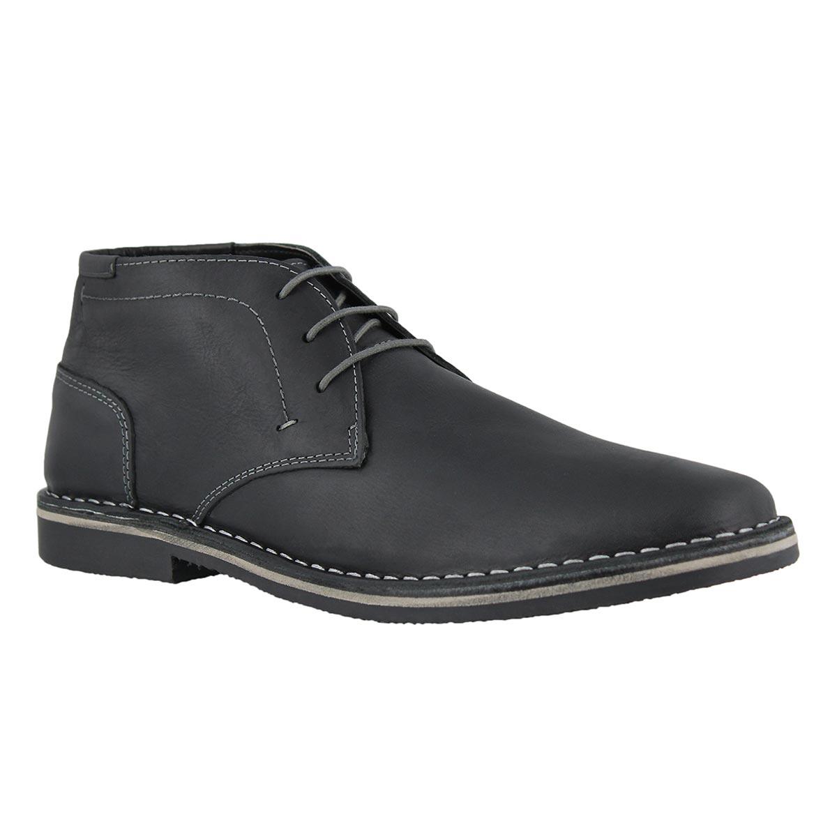 Mns Harken black laceup ankle boot