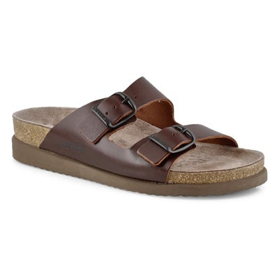 Lds Harmony brown footbed slide