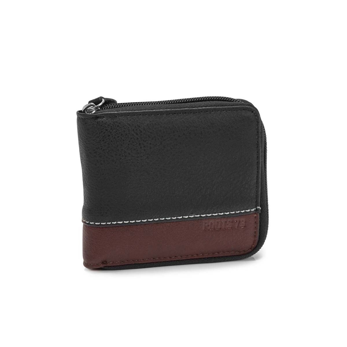 Men's HARMONY black billfold wallet