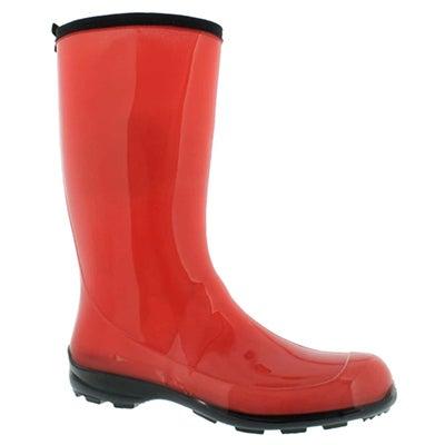 Kamik Women's HEIDI coral mid waterproof rain boots