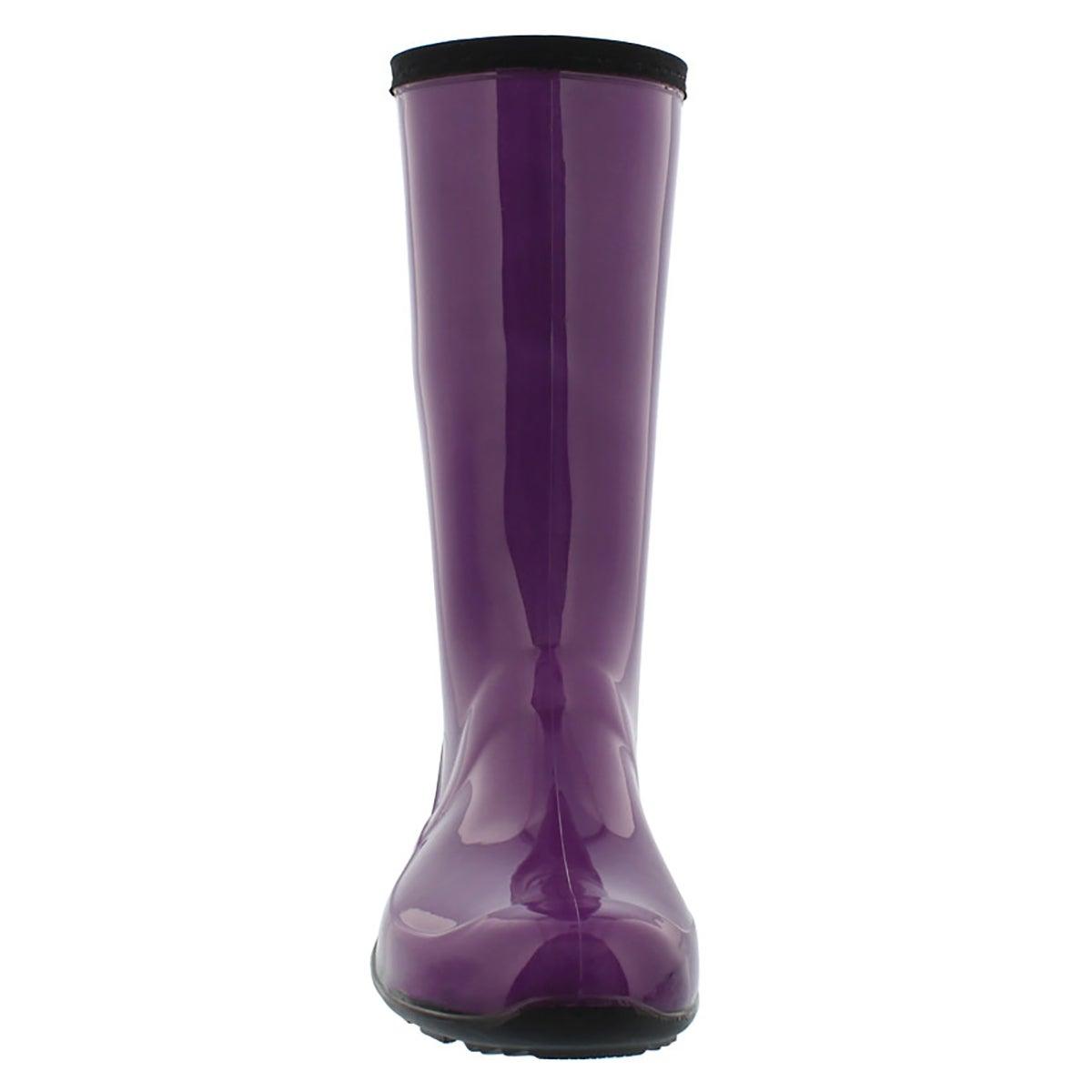 Lds Heidi dewberry mid wtpf rain boot