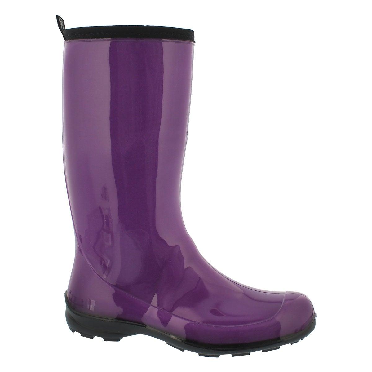 Women's HEIDI dewberry mid waterproof rain boots