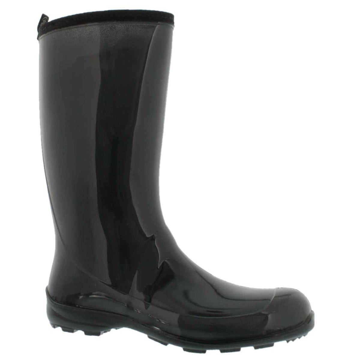 Lds Heidi grey mid wtpf rain boot
