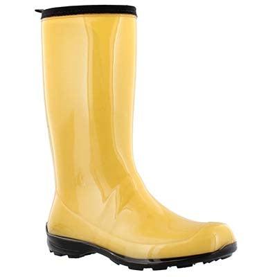 Kamik Bottes de pluie imperméables HEIDI, ambre, femmes