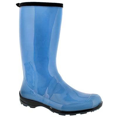 Lds Heidi lt blu mid wtpf rain boot