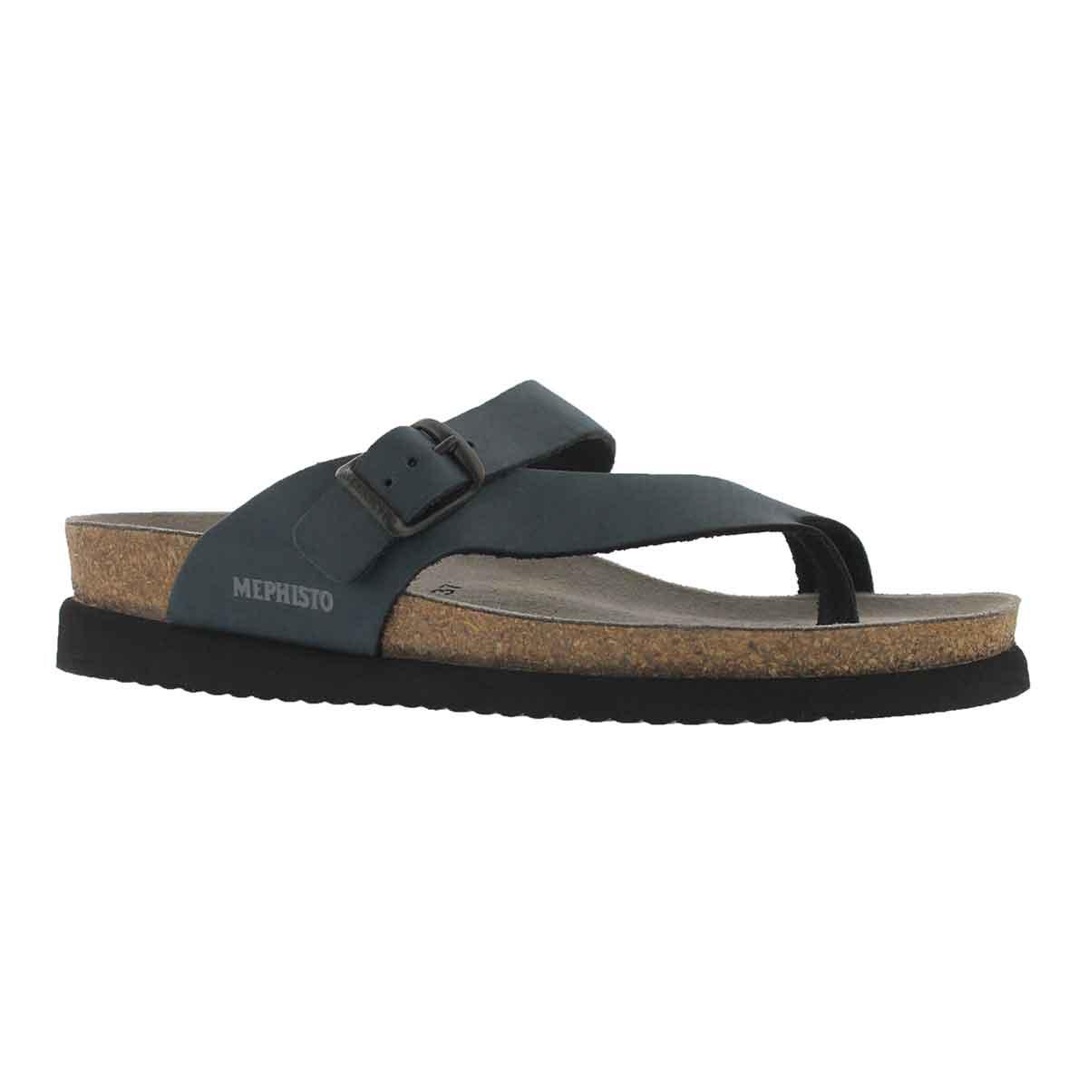 Women's HELEN navy thong sandals