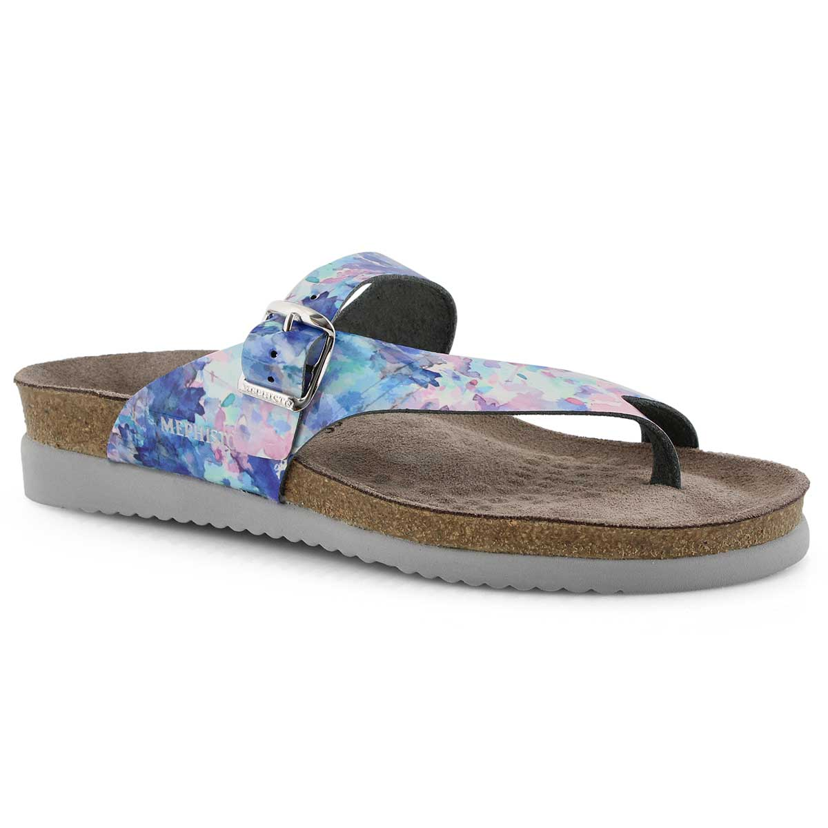 Lds Helen lagoon footbed thong