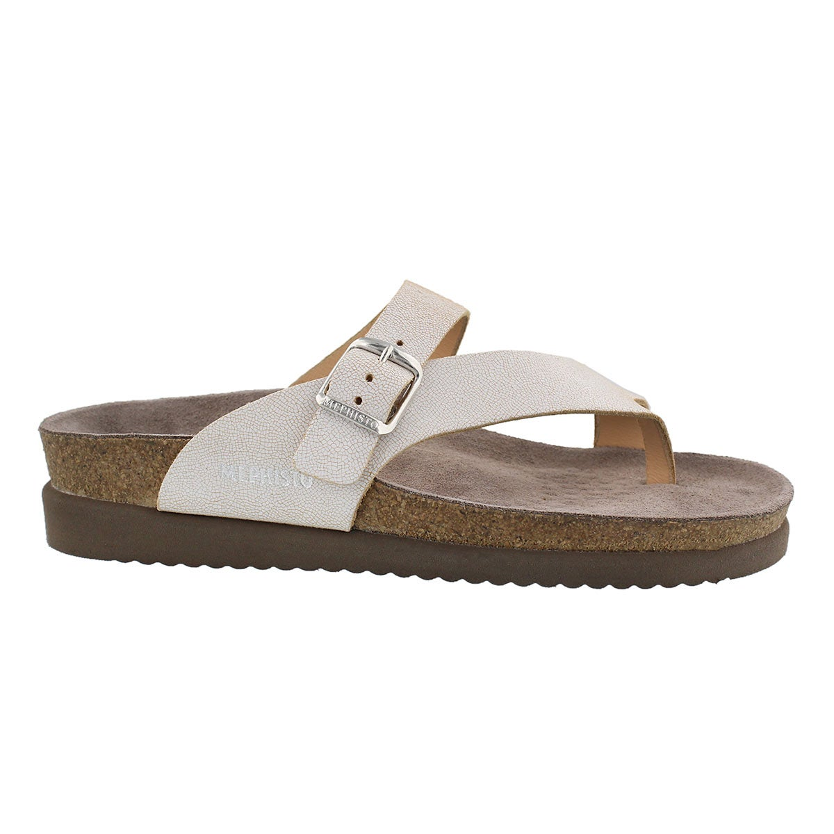 Lds Helen venise cork footbed thong