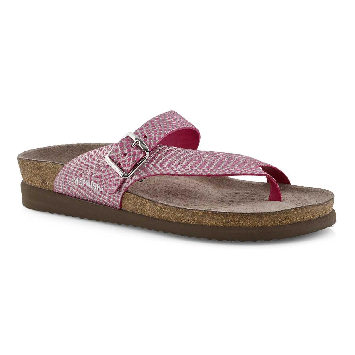 4246c32f4d Mephisto Women's HELEN pink cuba footbed thon   Softmoc.com