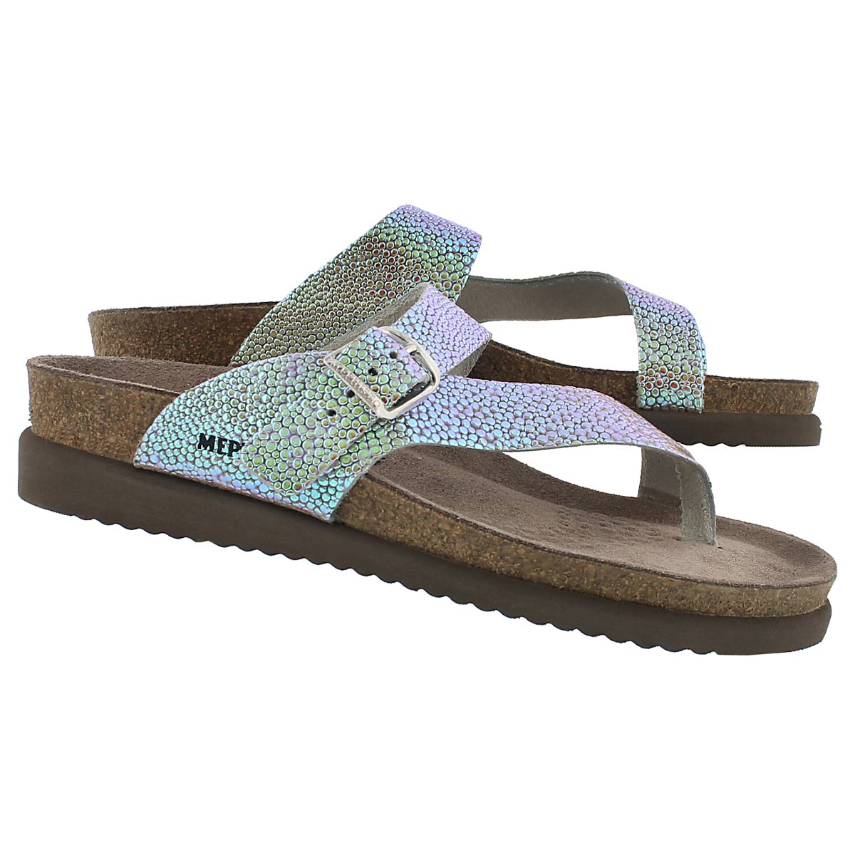 Lds Helen salsa nickel cork ftbd thong