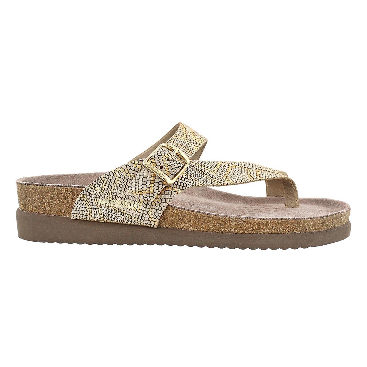 Sandale tong HELEN, fauve nairobi, femme