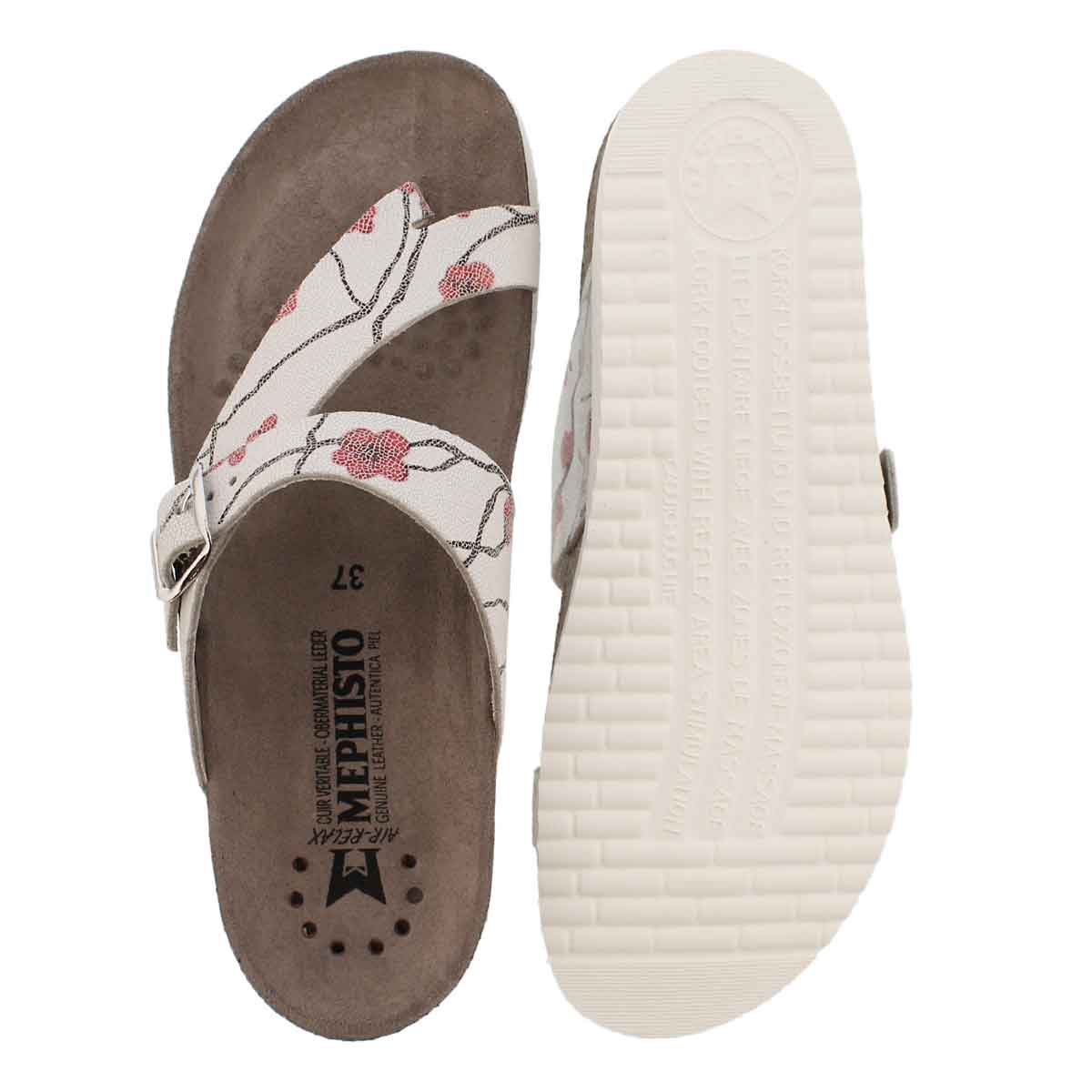 Lds Helen adele cork footbed thong