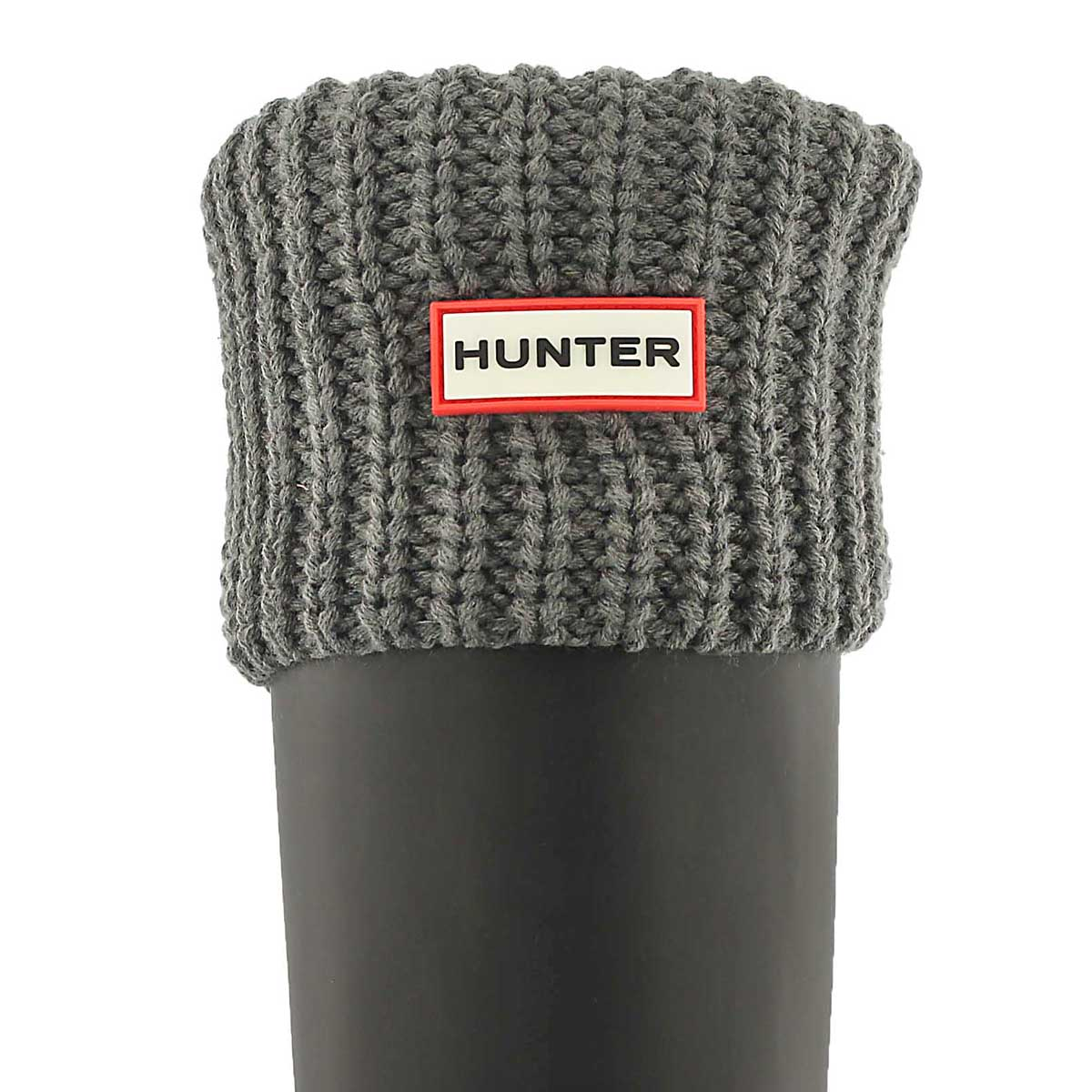 Lds Half Cardigan slate boot sock