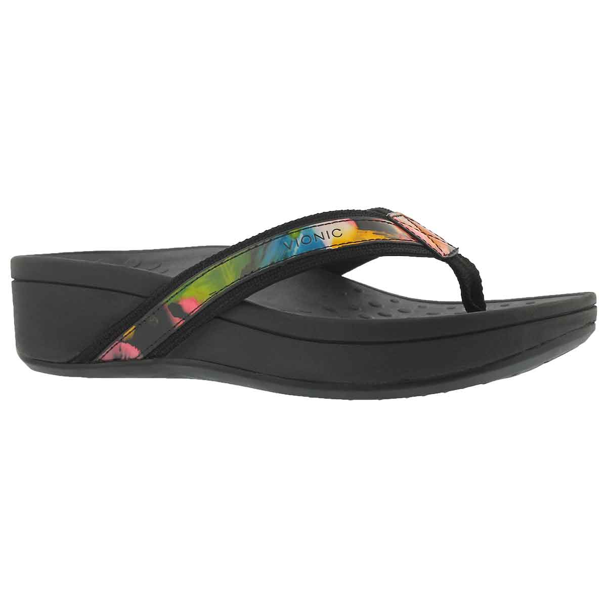 Women's HIGH TIDE floral arch support wdg sandals