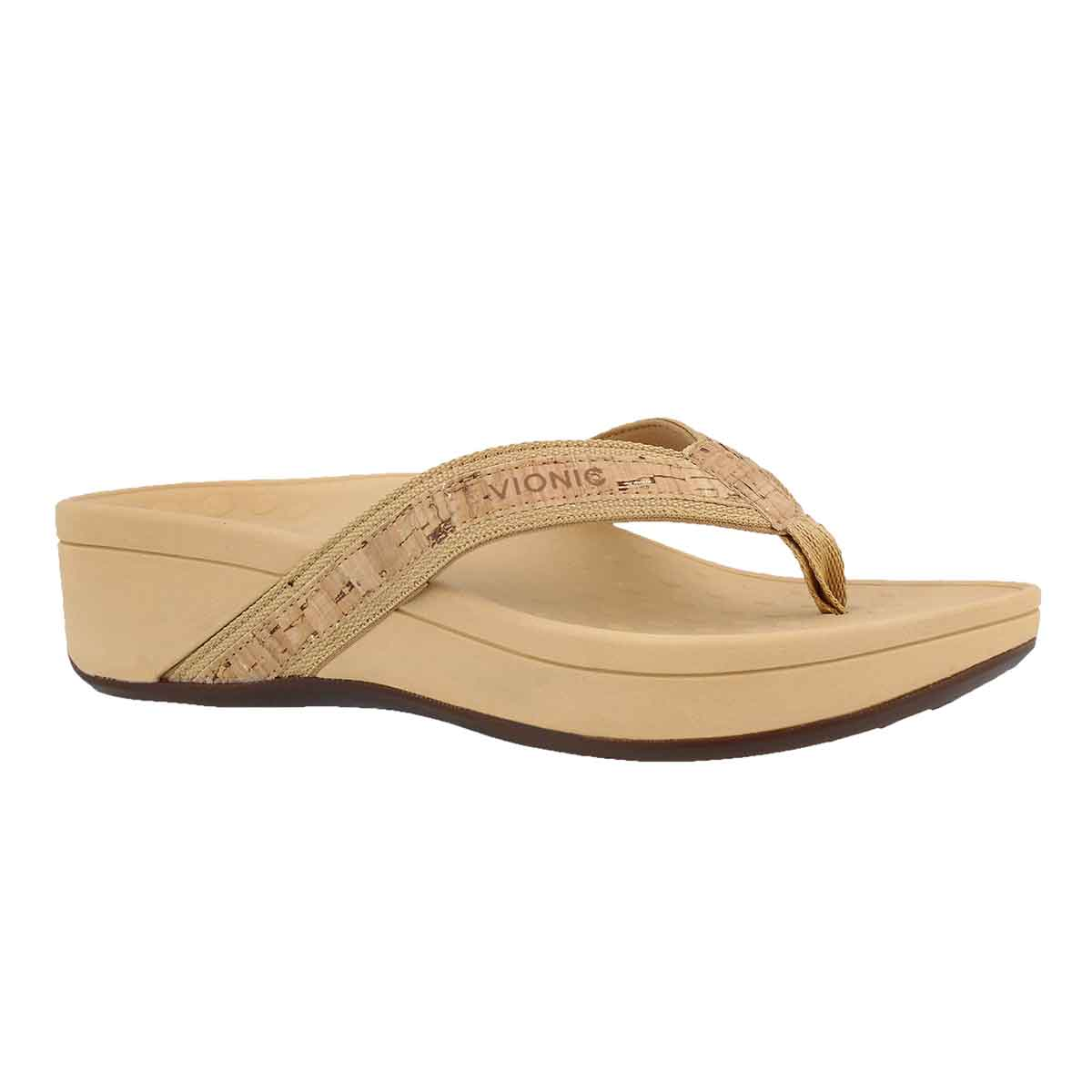 Women's HIGHTIDE gold arch support wedge sandals