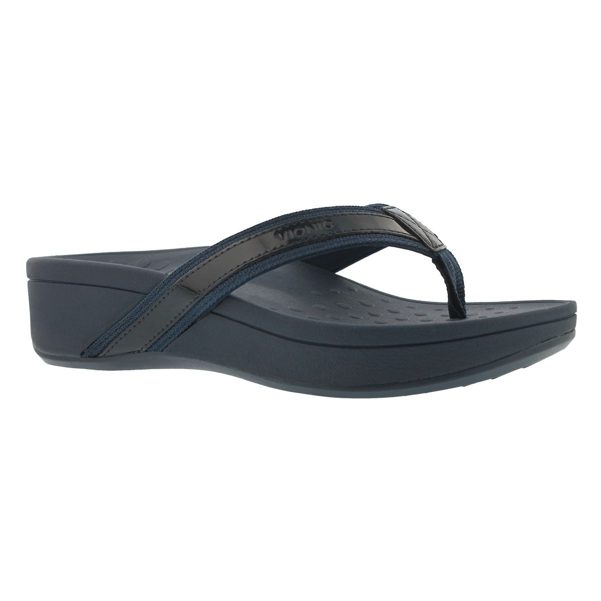 Women's HIGH TIDE navy arch support wdg sandals