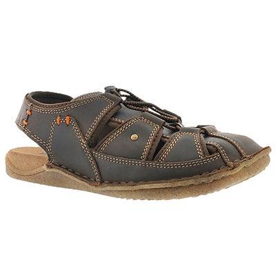Mns Bergen Grady brn fisherman sandal