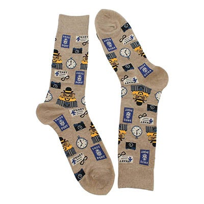 Hot Sox Men's TRAVEL hemp socks