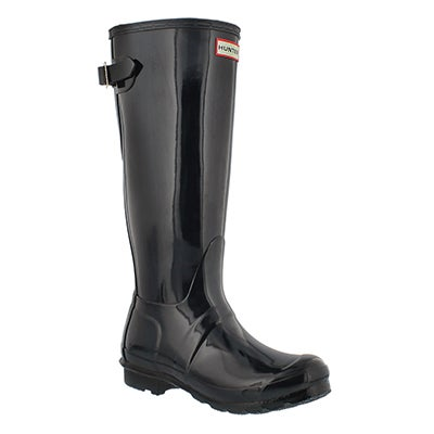 Lds Original Back Adj Gloss nvy rainboot