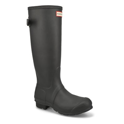 Lds Original Back Adj. tall blk rainboot