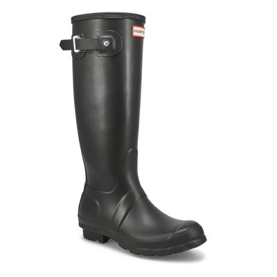 Hunter Women's ORIGINAL TALL CLASSIC black rain boots