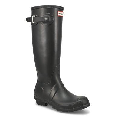 Hunter Bottes de pluie ORIGINAL TALL CLASSIC, noir, femme