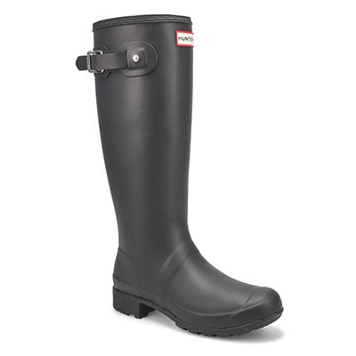 Hunter Women's ORIGINAL TOUR CLASSIC black rain boots