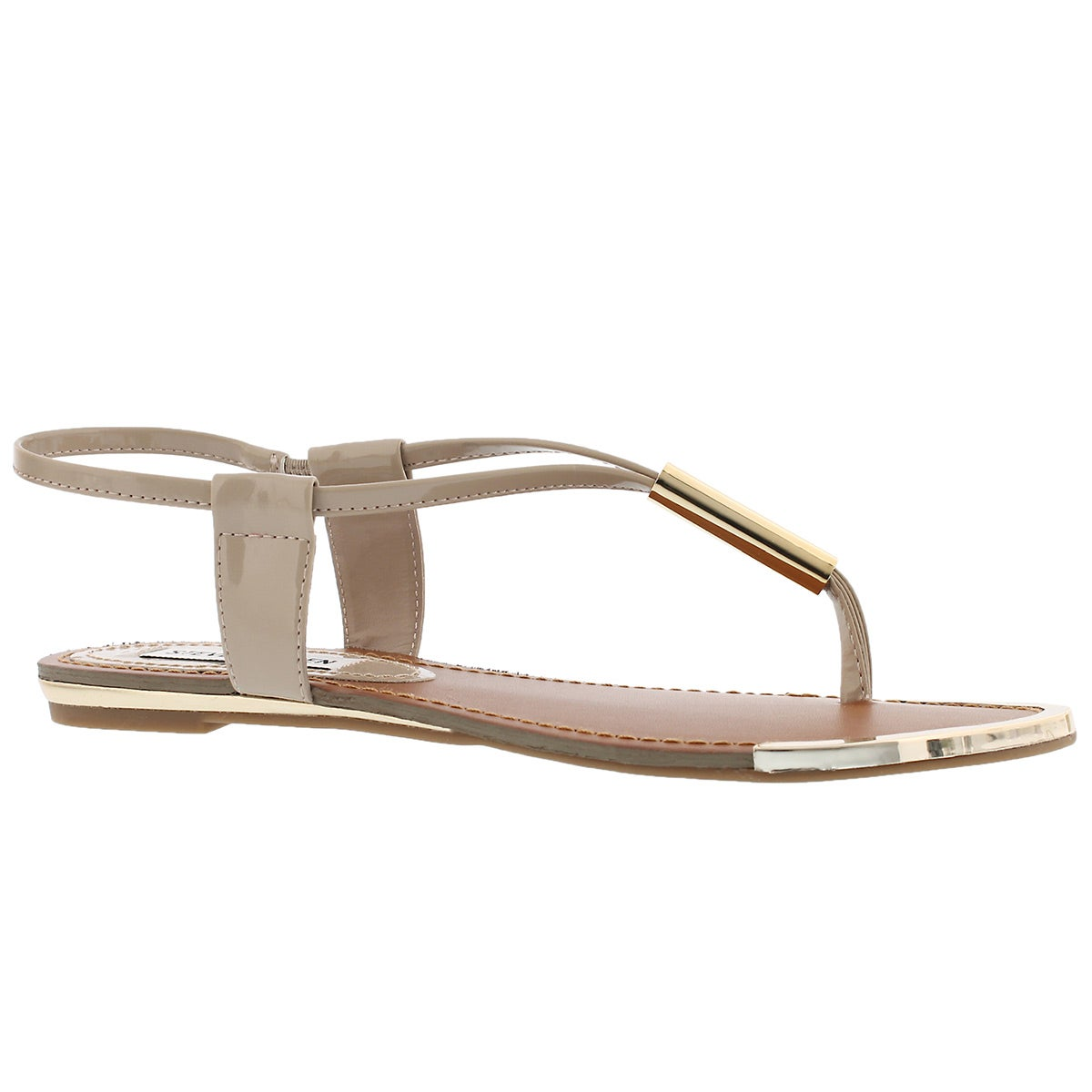 Women's HOLLAND blush t-strap thong sandals