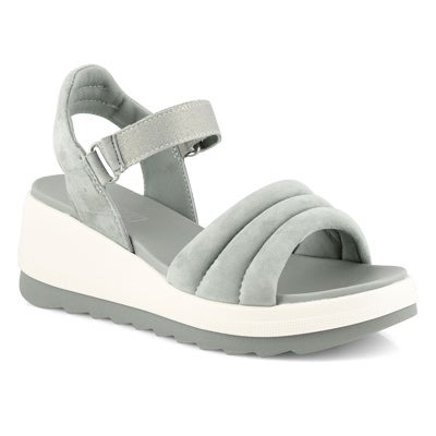 Lds Honey sage wedge sandal