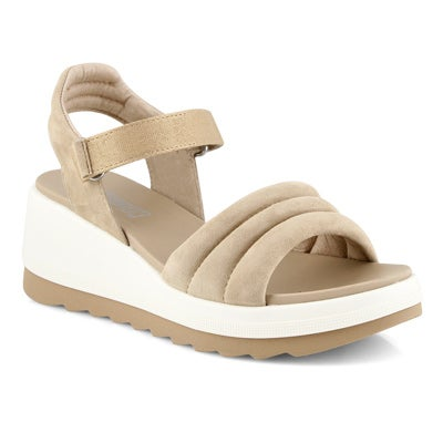 Lds Honey sand wedge sandal