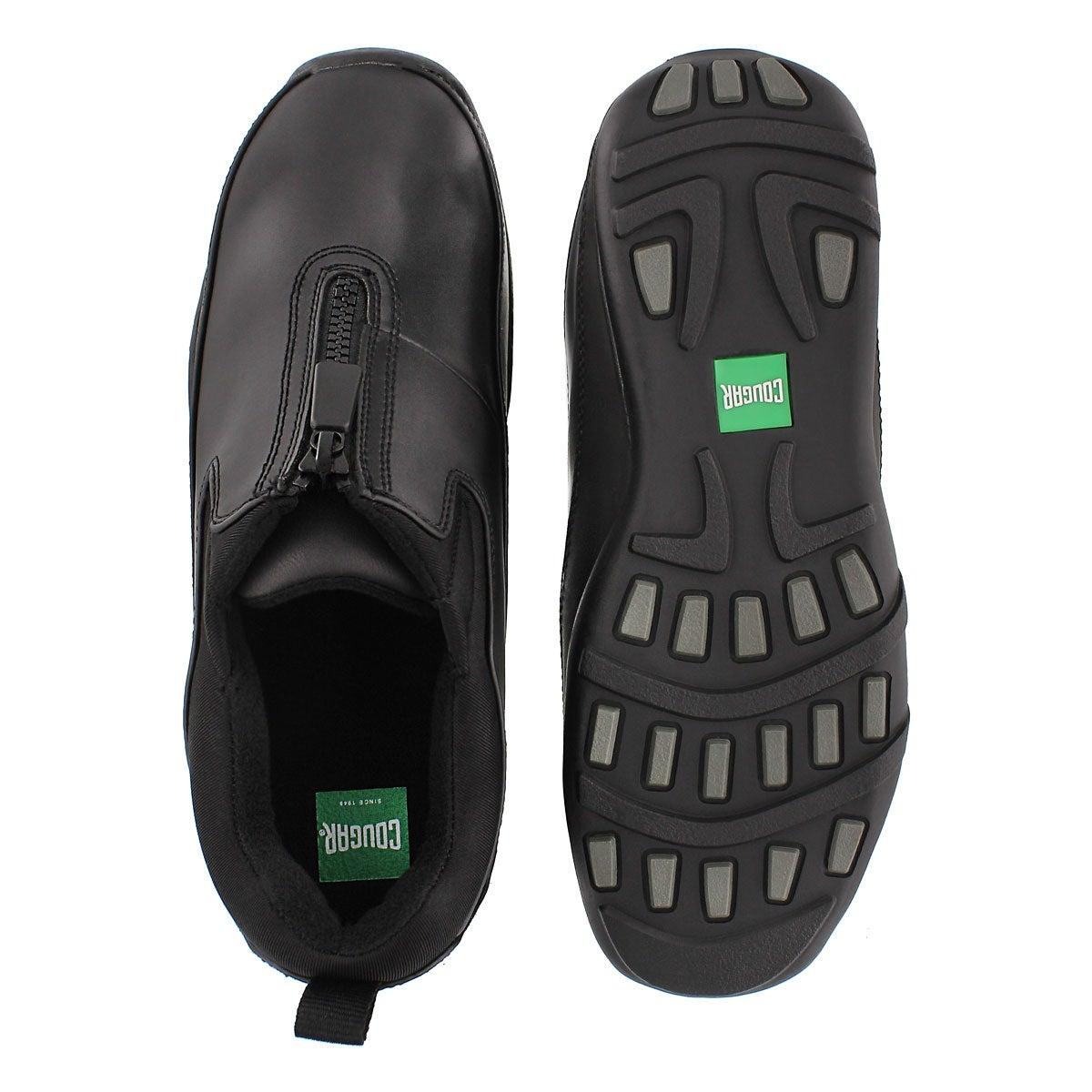 Lds Howdoo blk front zip rain shoe