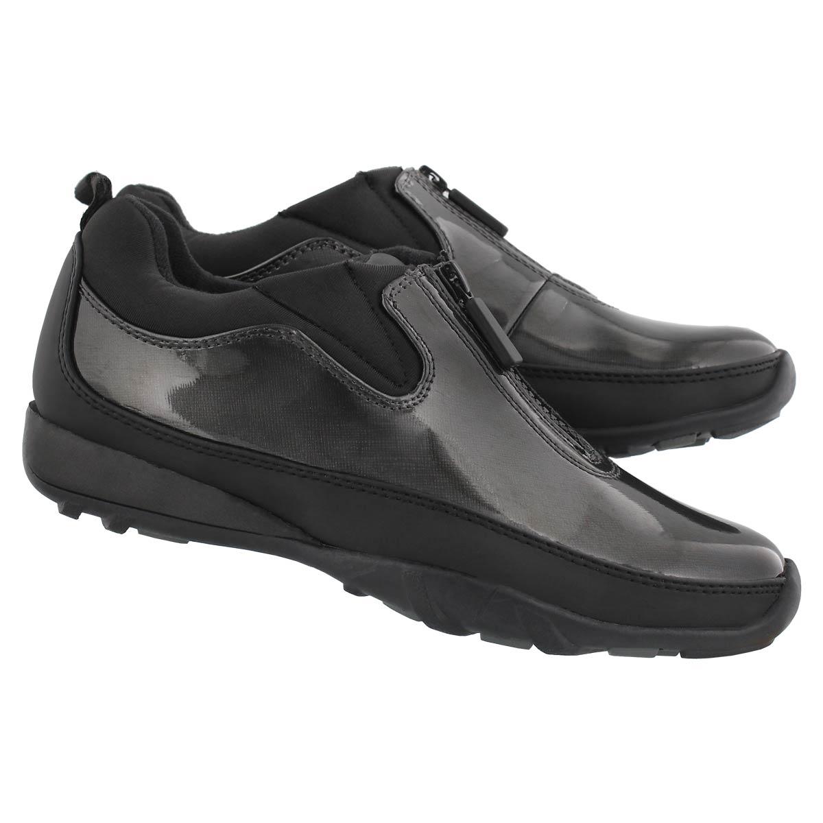 Lds Howdoo graph pat front zip rain shoe
