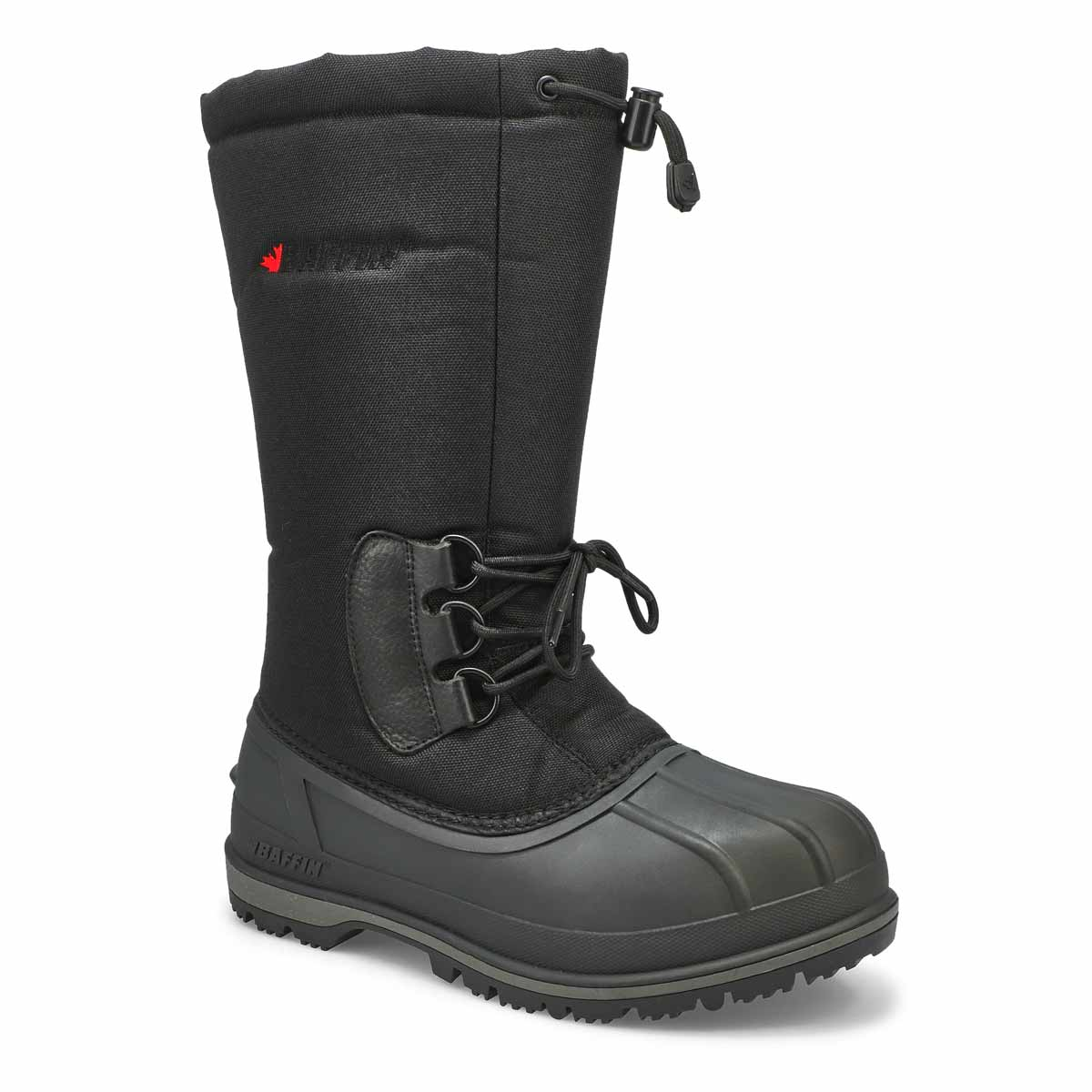 Mns Klondike blk wtpf tall winter boot