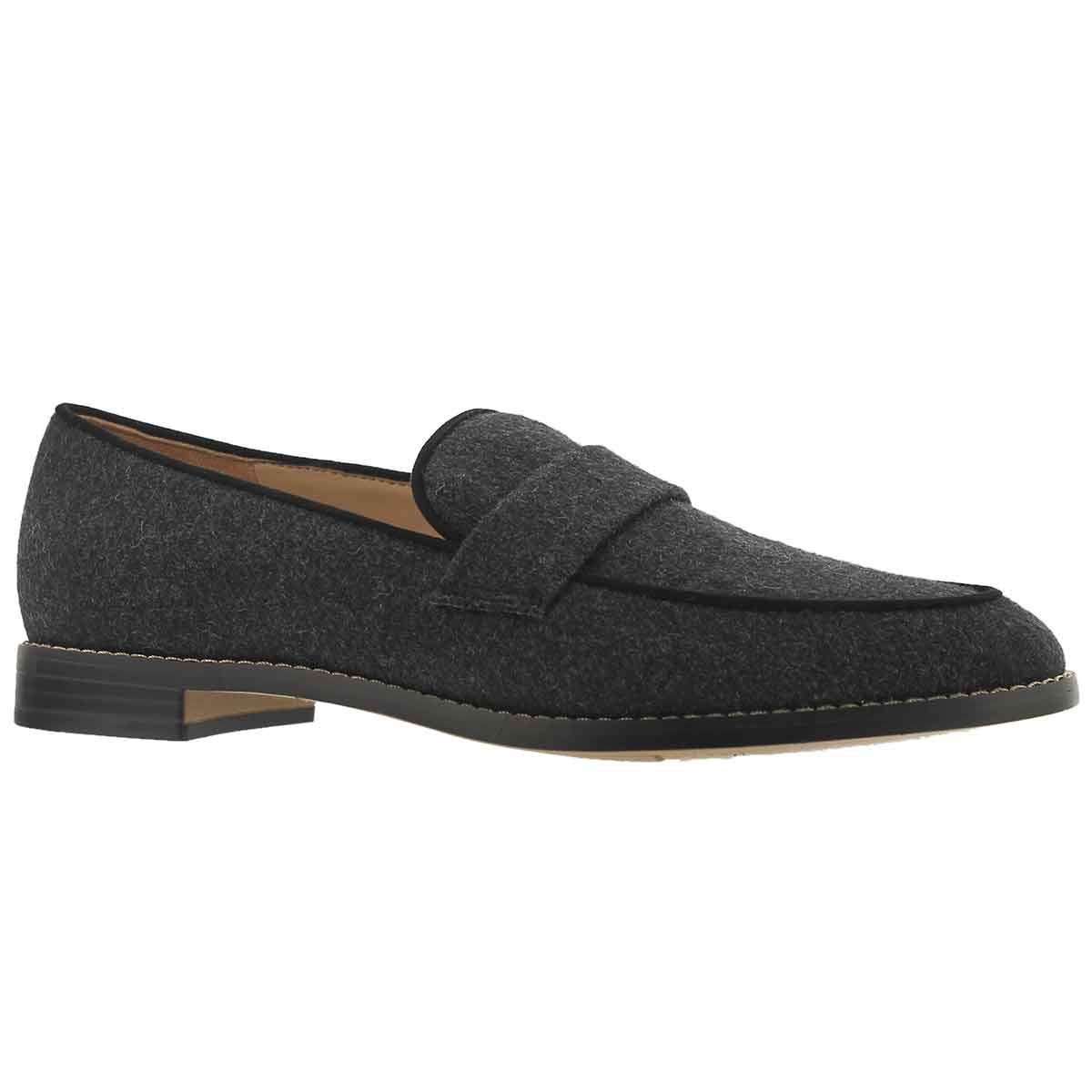 Women's HUDLEY grey casual slip on shoes