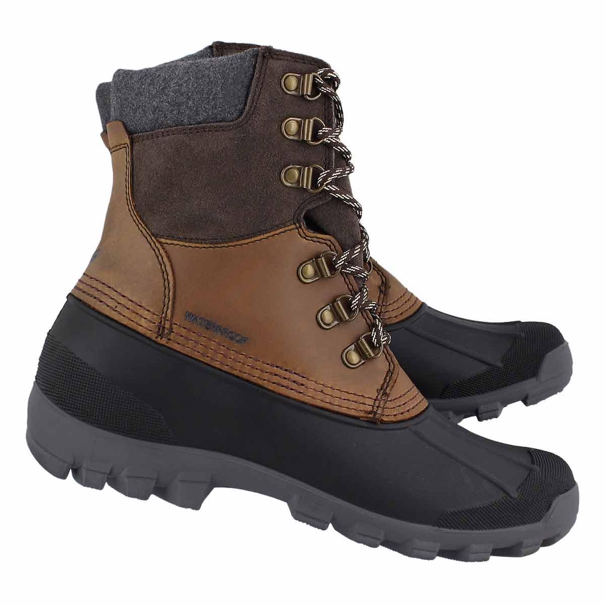 Mns Hudson5 dark brown wtrpf winter boot