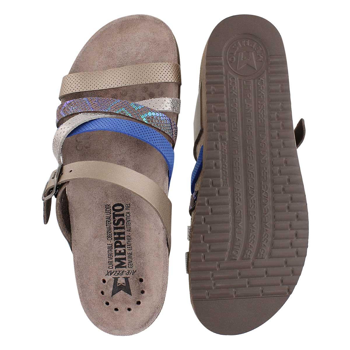 Lds Huleda pwtr combi cork footbed slide