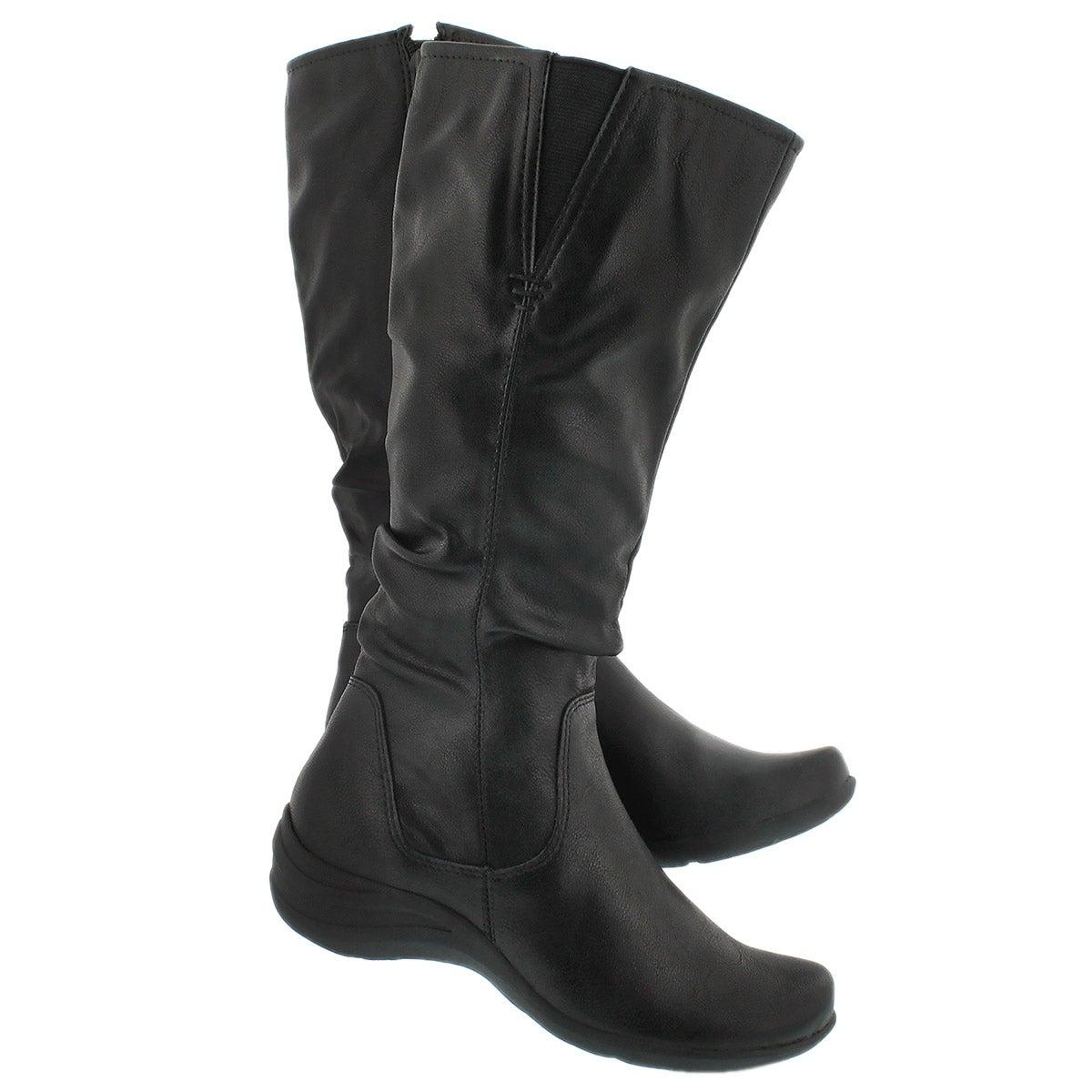 Lds Feline black high boot