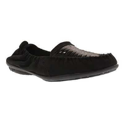 Lds Lydia Ceil black slip on loafer