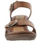 Lds Noelle Russo tan wedge sandal