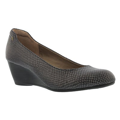 Hush Puppies Escarpins FARAH RHEA, serpent noir, femmes